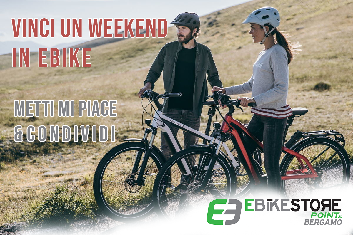 vinci un weekend in ebike